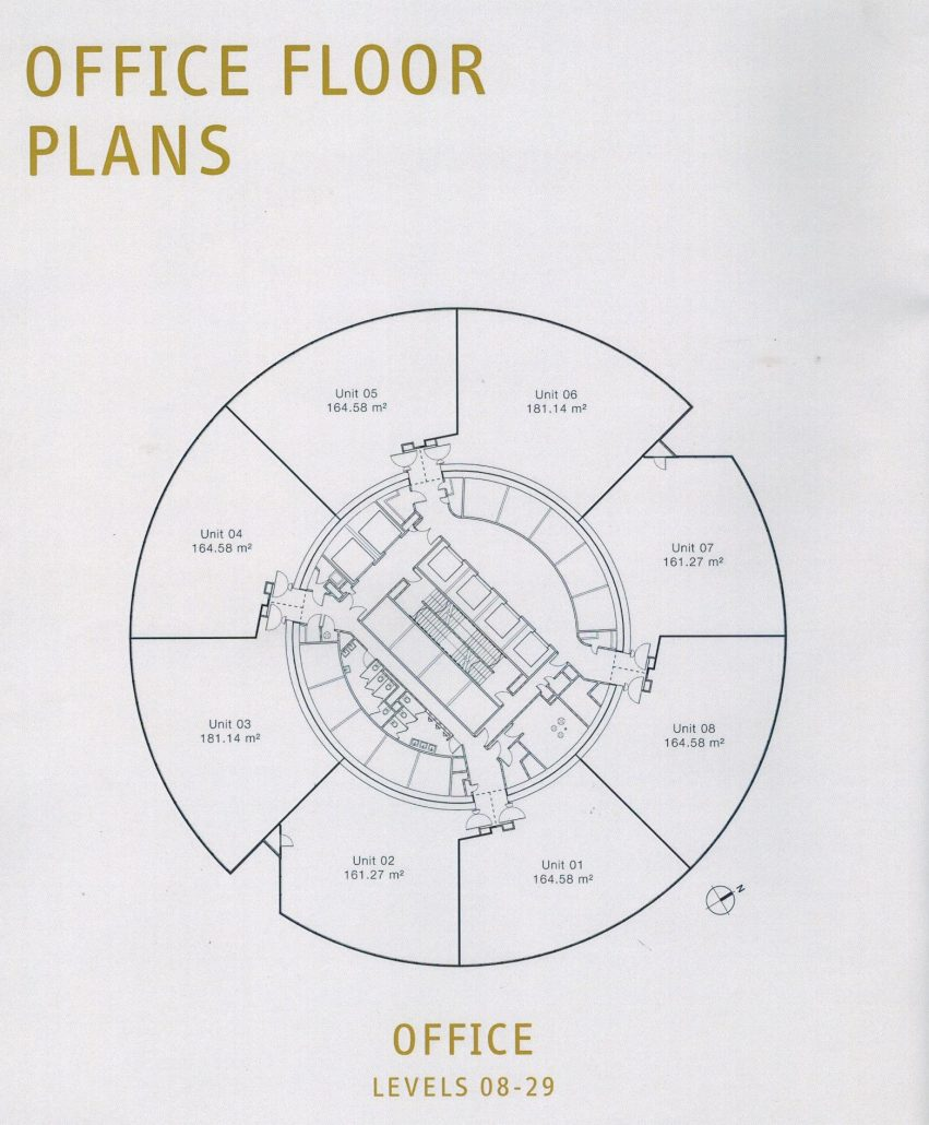 Floor plans are column free